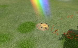 Rainbow Knoll close-up