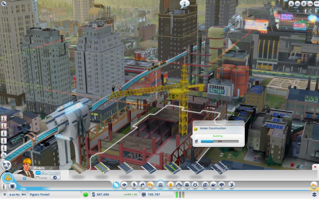MagLev-SimCity